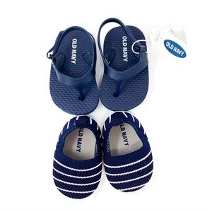 Old Navy | Baby Boy Shoes NB + 3-6 Month 2- PACK